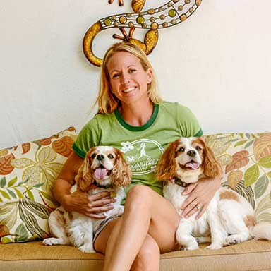 image of dogwalker owner erin g